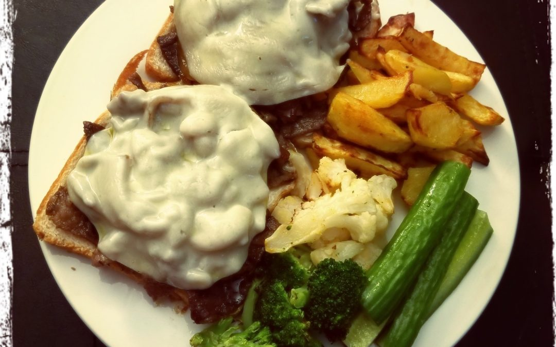 Philly Steak with caramelized onions and mushrooms